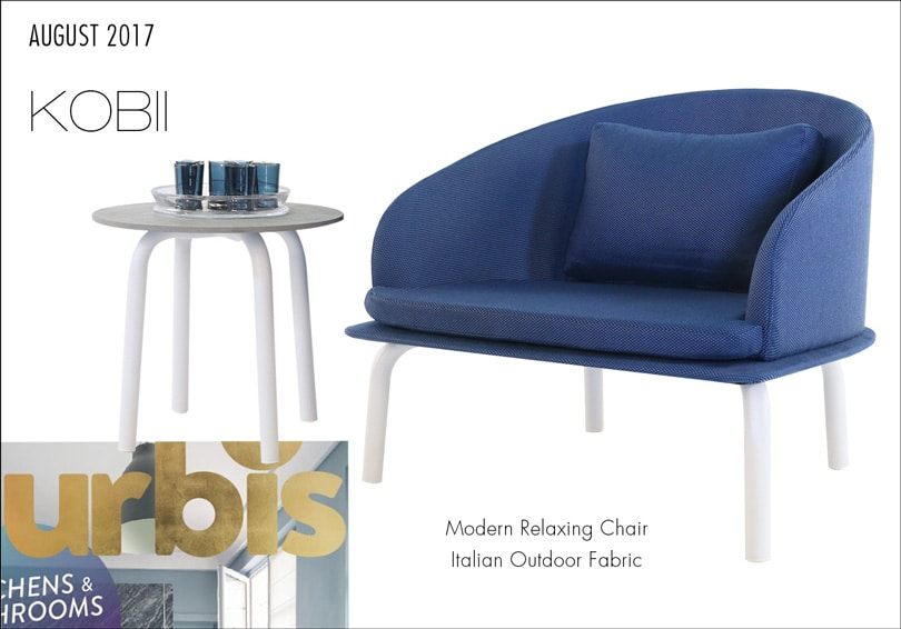 Kobii Blue Relaxing Chair